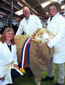 Heather,  Dennis & Johnathon holding Magnif 222